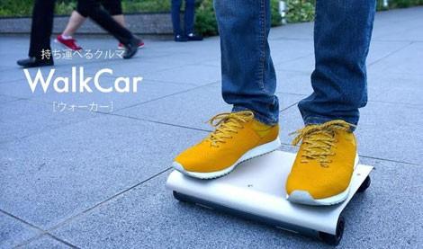 WalkCar - ô tô bỏ vừa vào túi xách giá 800 USD