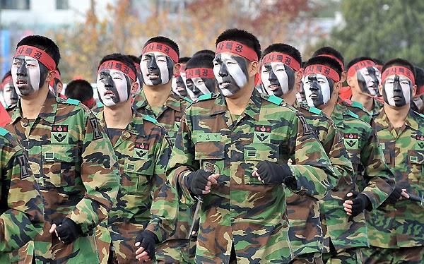 Những lực lượng uy mãnh của hải quân Hàn Quốc