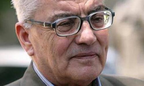 Ông Khaled al-Asaad, giáo sư khảo cổ người Syria. Ảnh: Guardian