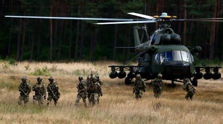"""NATO mở màn cuộc tập trận """"Phản ứng Mau lẹ-2015"""""""