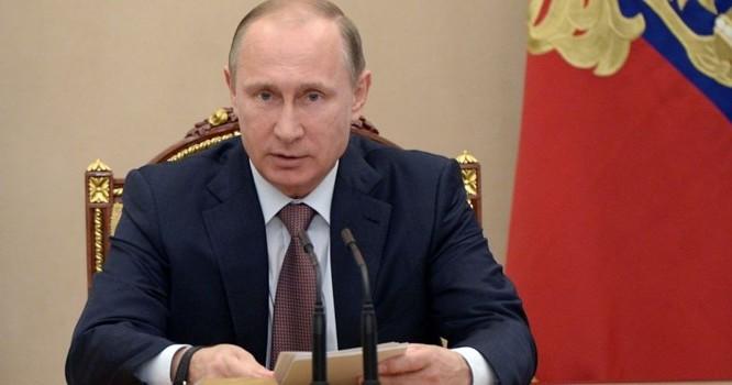 """Tổng thống Putin: """"Crimea có nguy cơ bất ổn vì các thế lực bên ngoài"""""""
