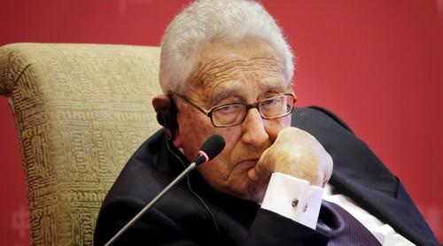 Cựu ngoại trưởng kiêm Cố vấn ANQG Mỹ Henry Kissinger. Ảnh: Reuter