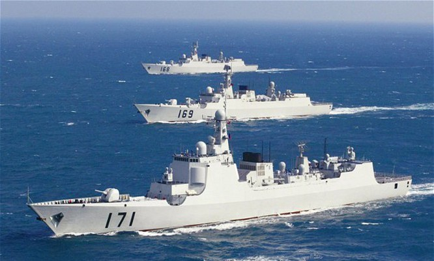 Tàu Trung Quốc trên biển Đông