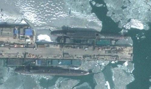 Tàu ngầm hạt nhân Type 094 của Trung Quốc - Ảnh: Sina