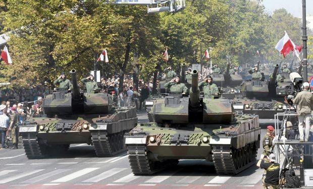 Tăng Leopard 2A5 của Quân đội Ba Lan