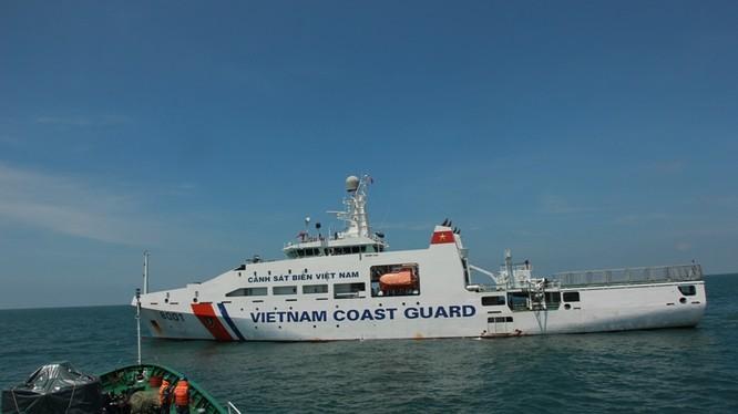 Cảnh sát biển Việt - Ấn huấn luyện chung