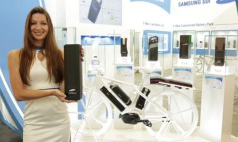 Pin cho xe đạp điện chạy đến 100km của Samsung