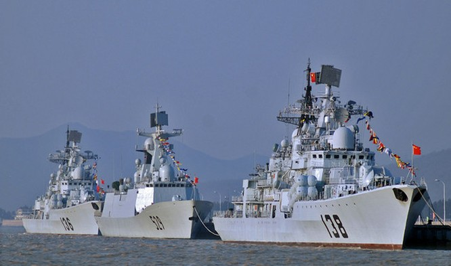 Tham vọng toàn cầu của hải quân Trung Quốc