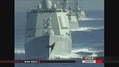 Tàu chiến Trung Quốc vượt qua lãnh hải của Mỹ ở Alaska
