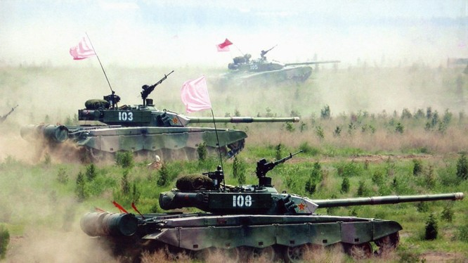 Xe tăng chủ lực Type - 99 ZTZ-99 / WZ-123