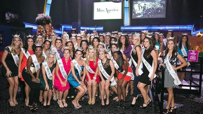 """15 thí sinh đẹp nhất trong cuộc thi hoa hậu """"Miss America"""""""