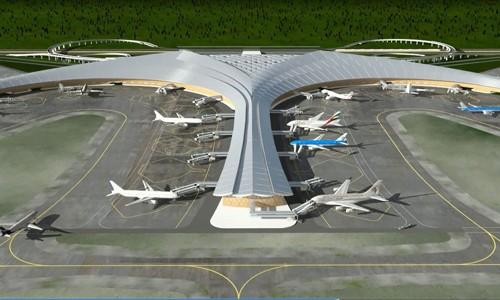 Ý tưởng mô hình Cảng hàng không quốc tế Long Thành.