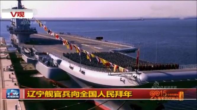 Trung Quốc rất tự hào về tàu sân bay Liêu Ninh