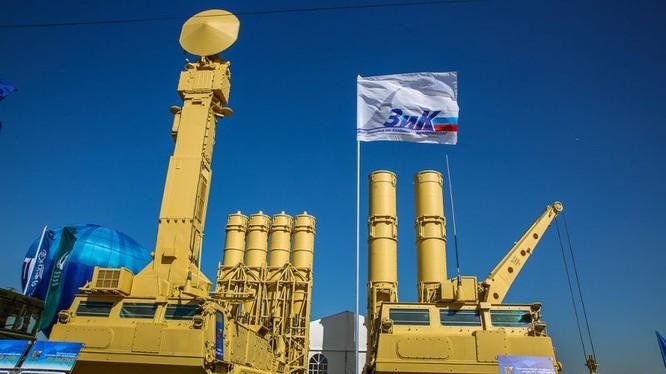 """Hệ thống tên lửa tập đoàn PVO """"Almaz-Antei"""""""
