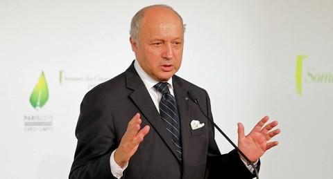 Ngoại trưởng Pháp Laurent Fabius