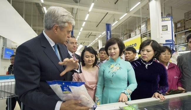 Đại diện Metro Cash & Carry Đức cho biết sản phẩm cá ba sa Việt Nam được bán ở hầu hết trung tâm bán sỉ của mình tại Đức