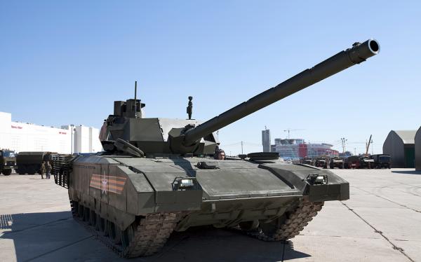 Xem tăng T-14 Armata khai hỏa