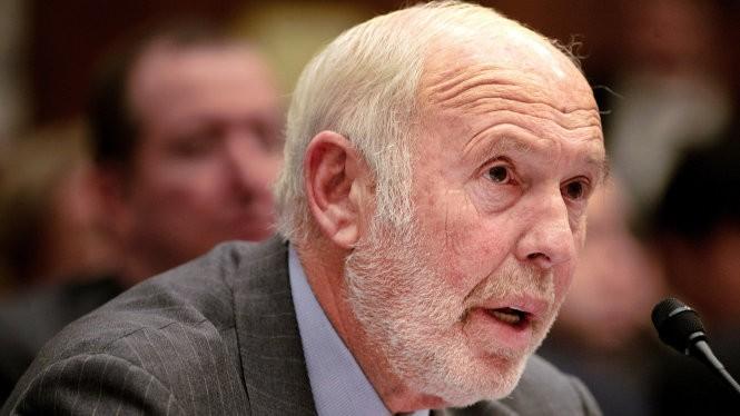 Nhà toán học kiêm thương gia Jim Simons - Ảnh: Reuters