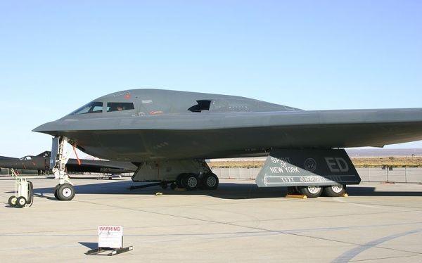 Máy bay ném bom B-2 của không quân Hoa Kỳ
