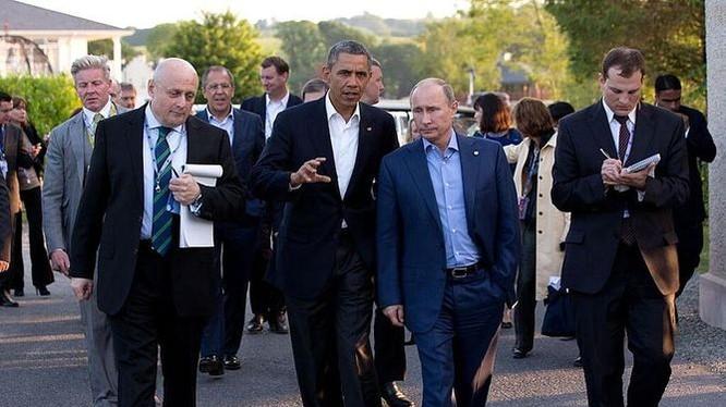 Barack Obama và Vladimir Putin