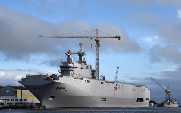 """Nga đề xuất trang bị hệ thống """"Pobeditel"""" cho tàu Mistral"""