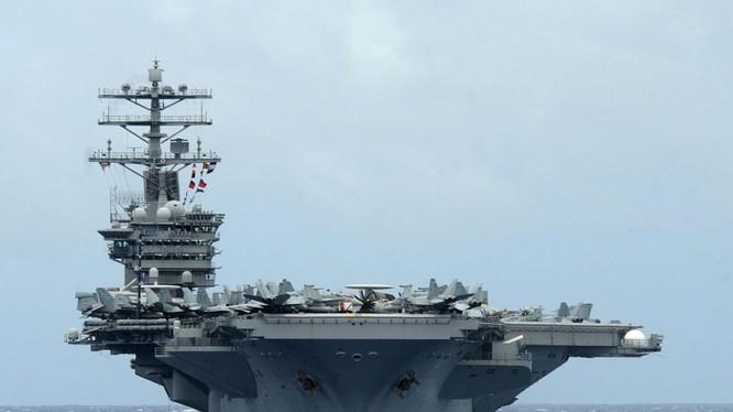 Trung Quốc đã cải thiện một cách nhanh chóng khả năng định vị đáng tin cậy để tấn công các nhóm tàu sân bay của Mỹ ở khoảng cách lên đến 2.000 km từ bờ biển của họ. Ảnh: NI