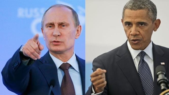 Tổng thống Mỹ Barack Obama đã có màn thể hiện gay gắt cùng tổng thống Nga V.Putin tại Đại hội đồng Liên Hiệp Quốc