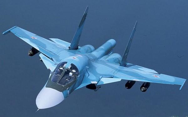 Tiêm kích mang bom Su-34 Fullback