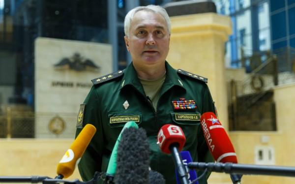 Thiếu tướng Igor Konashenkov, đại diện báo chí của Bộ Quốc phòng Nga