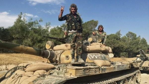 Đặc nhiệm Syria chặn bắt một đoàn xe chở vũ khí cho IS