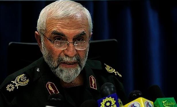 Thiếu tướng cận vệ Cách mạng Iran Guard Hussein Hamdani