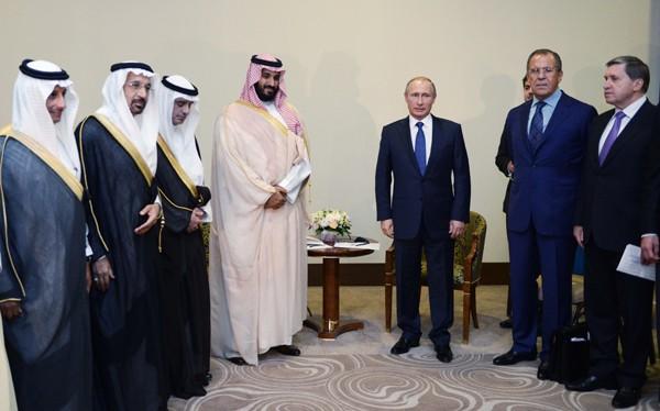 Putin mật đàm với thái tử Ả rập Xê út về Syria