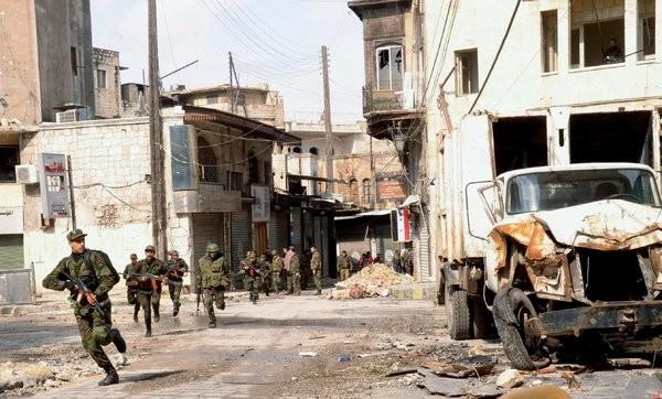 Binh sĩ Syria lao vào những trận kịch chiến đẫm máu