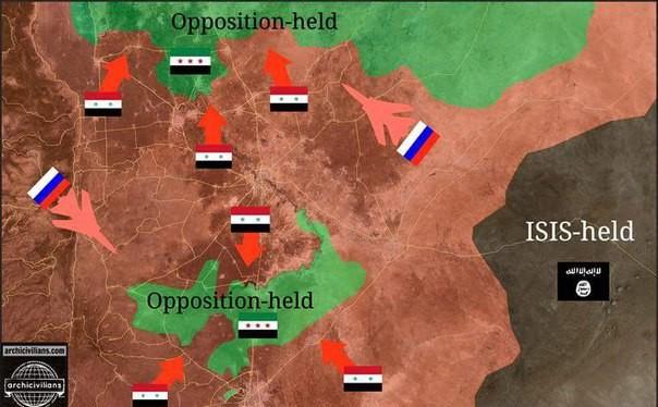 Clip: Quân Syria ào ạt xung phong, IS tuyệt vọng chống cự