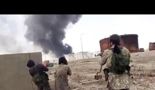 Video: vụ bắn máy bay không thành của chiến binh IS