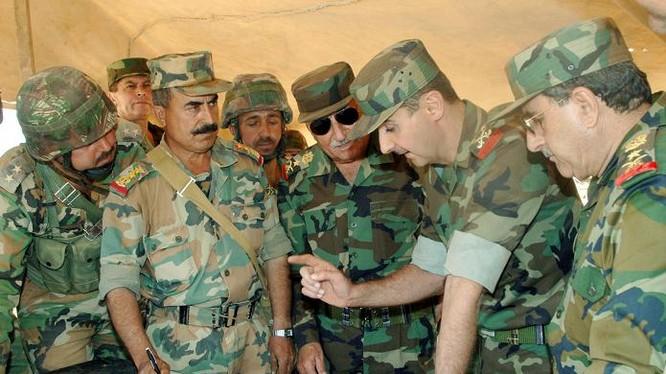 Tổng thống Al Assad trên chiến trường