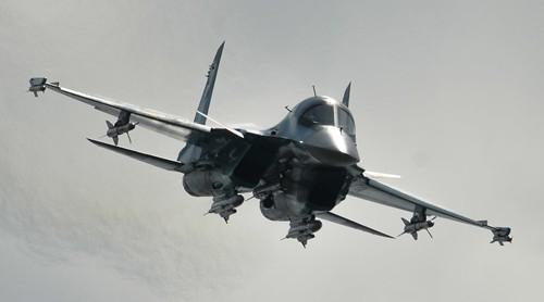 Máy bay chiến đấu Nga tham gia chiến dịch không kích IS ở Syria. Ảnh: RT