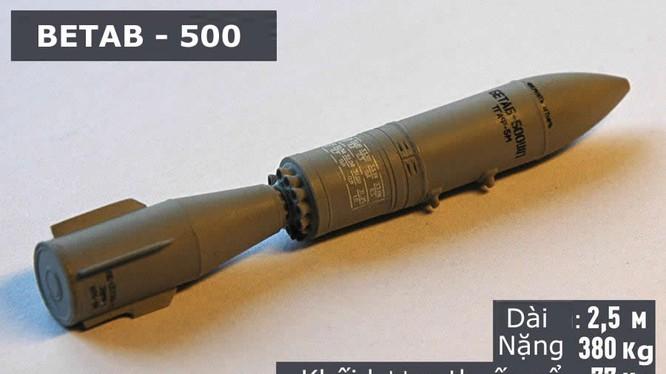 Nga dùng bom xuyên bê tông tiêu diệt khủng bố