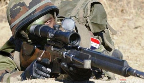 Những phát bắn tỉa kinh điển của chiến binh Syria