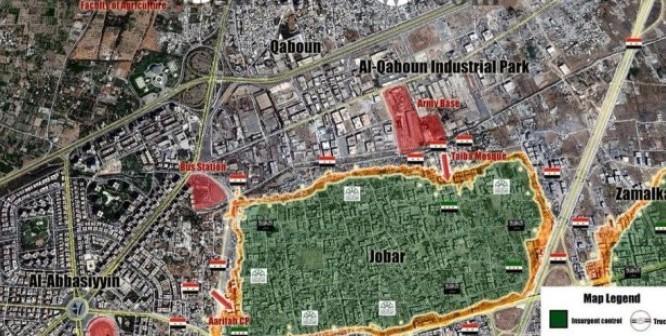 Clip: Trận chiến dữ dội ngoại vi thành Damascus