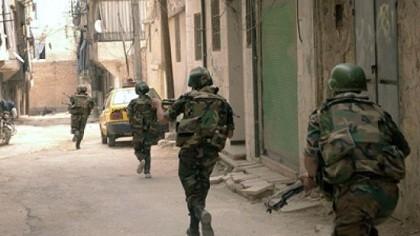 Quân đội Syria tiếp tục tiến về Palmyra