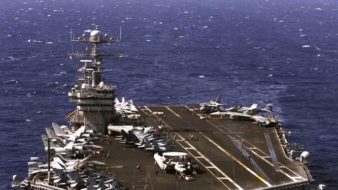 Tại sao tàu sân bay Mỹ là át chủ bài thống trị