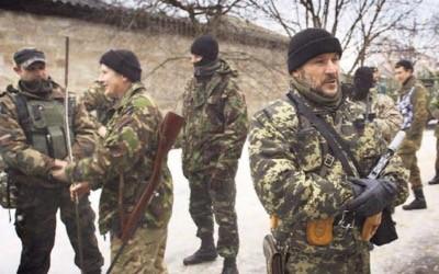 Lực lượng chiến binh Hồi giáo ở Ukraine, nổi tiếng cùng với các tiểu đoàn ATO về hành động tra tấn tù binh, giết thường dân trong khu vực tác chiến ở Donbass