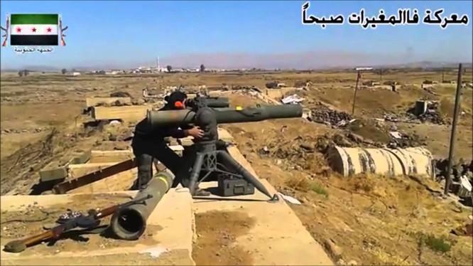 Tên lửa TOW của Mỹ do Quân đội Syria tự do sở hữu