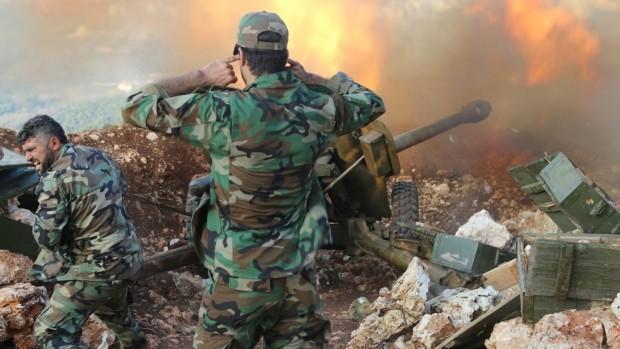 Clip: Quân đội Syria ồ ạt tấn công diệt khủng bố IS ở Homs