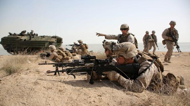 Mỹ bắt đầu triển khai bộ binh chống IS