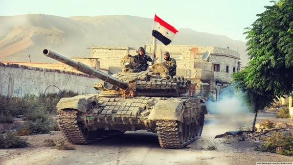 Bão lửa dồn dập mọi hướng trên toàn lãnh thổ Syria