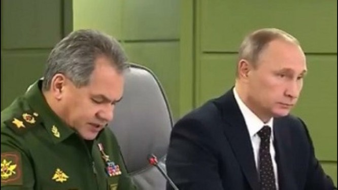 Video Tổng thống Putin họp hạ lệnh trừng phạt báo thù IS