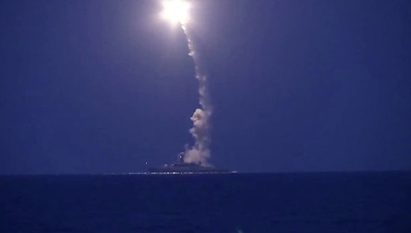 Hạm đội Caspian lại phóng tên lửa hành trình Kalibr vào căn cứ của IS