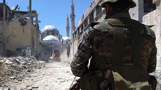 Chiến trường Syria tiếp tục rực lửa dữ dội vào cuối tuần